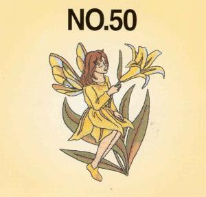 Brother SA350 No.50 Fairy and Floral Embroidery Card