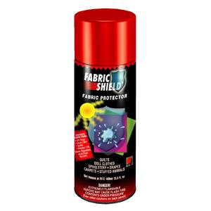 SPRFS, Fabric Shield, 13.5oz, Spray Can, Protects Against, UV Light, Water, Dust, Oil, Grease, Spills, Dirt. Excellent Interior Exterior Fabric Protectant