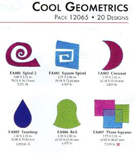 OESD 12065 Cool Geometrics Multi- Formatted USB