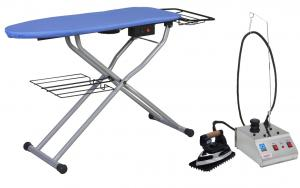 Reliable C81, Vacuum, & Up Air, Ironing Board, Table, Extra Cover Pad, PLUS Reliable i300 Dry Steam Generator Iron, Ironing System, Combo & Stand, - ITALY