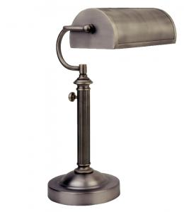 Verilux VD05NA1 Antiqued Nickel Princeton Desk Lamp
