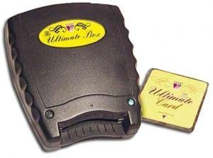 Vikant, Ultimate Box, USB Basic, 1 Slot, Embroidery, Reader Writer Box,  Blank Rewritable, Memory Card, Version 1 & 2, in Brother .pes, and Viking .hus, Formats, Vikant Ultimate Box II Plus! Embroidery Memory Card Reader, Writer & Blank Card - Automatically Converts Home Embroidery Formats and Resizes Designs, PED Basic, OESD Magic Box, Amazing Box, Amazing Box Max, Mini Magic Box, Embroidery Conversion Box,