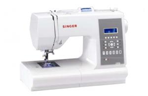 Singer, 7470, Electronic, Sewing Machine, with ,Push-Button, Stitch Selection, 173-Stitch, Confidence, Compute,r Sewing Machine, 7 BHs, Font, Handlook Quilt, Auto Backtack, Mirror Image, Needle Up Down, 13 Pos, Threader