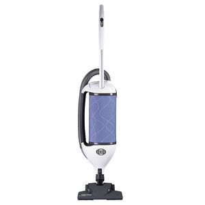 "SEBO Felix Kombi 9824AM Ice Blue Upright Vacuum Cleaner, 11A, 1300W, 102CFM, 68 dBA, 12"" Cleaning Path, 3 Stage S Class Filtration, 3 Tools, 13 Pounds"