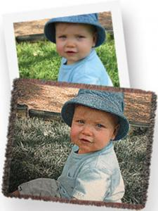 "Brother, SATHRW6,  ""My Photos To Throw"", Tapestry Blanket, with Your Favorite Photo, Woven In, 50"" x 60"", or 60"" x 50"", 100% Cotton, Machine Washable, USA"