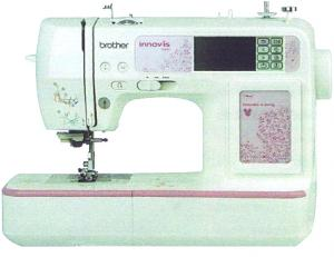 Brother, 900d, 950d, nv900, nv950, nv900d, nv950d, babylock sofia BL137A, innov-is, 67 Stitch,   Sewing, 105 Designs, Embroidery Disney, Pixar Machine, 6 Fonts, USB Cable, 4x4&quot;Hoop, 10x 1Step Buttonhole,Trim (Babylock Sofia, without Disney)