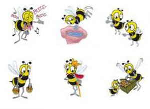 Dakota Collectibles 970322 Beez, Beez, Beez Embroidery Designs Multi-Format CD