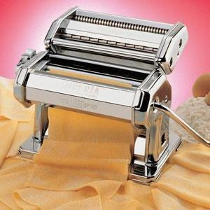 "Cucina Pro 150, Imperia, Home Pasta, Machine, 6"" Wide Roller, Double Cutter for Spaghetti"