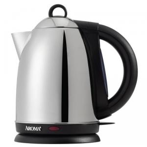 Aroma AWK-115S 1.5 Liter Stainless Steel Water Kettle