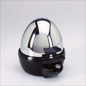 Aroma AEB-917, Stainless Steel, Egg Boiler, with Timer, Cooks 7 Eggs, at a time; Soft, to Hard Boiled