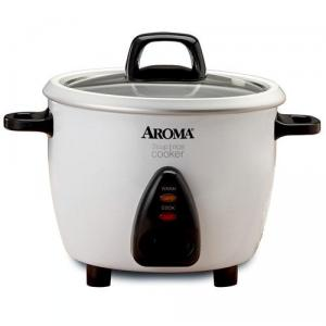 Aroma ARC-733G 3 Cup Pot Style Cooker with Steam Tray