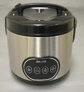 Aroma, ARC-998, 8 Cup, Digital Programmable, Rice Cooker, (Stainless Steel), Yields 16 Cups of Cooked Rice, Stews, Soups, Fish, Meat, Poultry, Vegetables