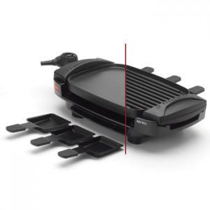 Aroma AHG-2233 Dual Sided Flip Grill/Griddle/Raclette