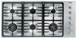"Miele KM3485G 42"" Gas Cooktop (Linear Design)"