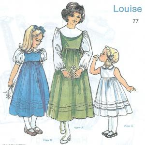 Childrens Corner Louise  Pattern