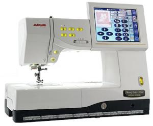 "Janome, MC11000SE, v2.0, Sewing, Quilting, Embroidery Machine, AcuFil Hoop, 24 Stippling St, 1/8""Jump Stitch Thread Trimming, AcuGuide Seams, Hoop Position, mc110000machine, Janome MC11000SE Sew Quilt Emb Machine 358Stitch 170Design 24Stippling AcuFil 3Hoops JumpStitch 10Font 13BH Threader&Trims AcuGuideSeams 25/5YrExtWnty"