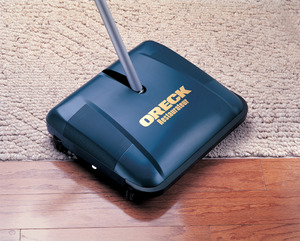 "Oreck, PR3200, Hoky, Sweepe,r Wet Dry, Carpet Sweeper, Midnight Blue, 3.7 lbs, 12.5"" Cleaning Width"