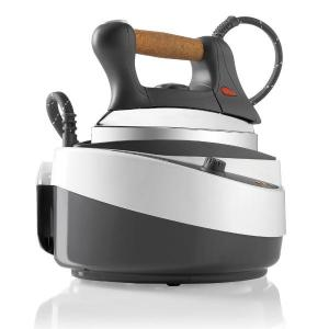 Reliable, J420, IronMaven, Steam Generator, 3 Pounds, 50 PSI, 3.5 Bar Pressure, Low Water Warning, Cork Handle, Made in Italy, Reliable J420 IronMaven Steam Generator Iron, FREE $20 Teflon Iron Shoe, 3Lb, 50PSI, 3.5Bar, 5Cup, StainlessSteelTank, LowWaterWarn, CorkHandle, EU