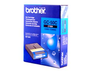 Brother, BGC5000C2510002, Cyan Ink Cartridge, GC-50C, 250cc, (228cc Usable) for Brother GT-541, Direct to Garment Printer, GT541