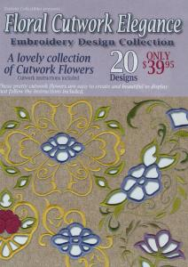 Dakota Collectibles 970377 Floral Cutwork Elegance Embroidery Designs Multi-Formatted CD
