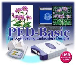 Brother, PED BASIC, Embroidery Memory Card, Writer Box, Rewritable , 4MB, Blank Card, USB Cable, Downloads Designs, - FREE 3700 CD, Format, & Color Conversion!