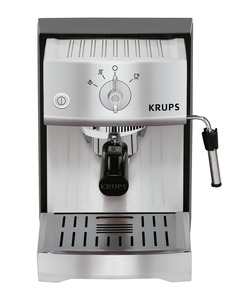 Krups, XP5240, # 1, Pump, Espresso, Coffee, latte, Machine, Ground & Pods, Easy Cake Eject, Perfect Temperature, Precise Tamping, Knobs, Milk Frother, Fast Preheat