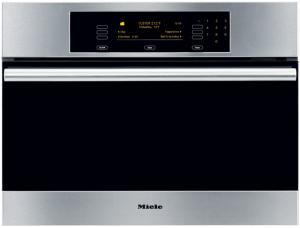 "Miele DG4082  DEMO  Convection Steam Oven  Convection Steam Oven, 24"" Steam Oven with Convection Steam Cooking, Navitronic Touch Control Pad, Multi-Tier Operating Modes and Electronic Temperature Control"