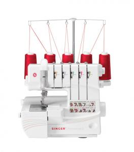 Singer, QuantumLock, Professional,14T968DC, S14T968DCSM , AutoTension, 5.6mm, 2 & 3 Needle, Coverhem Stitch, 5432 Thread Serger,  FREE 231 Page Workbook. All 6 Feet, & 25 Year Ext Wnty