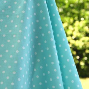 "Cloud 9 Organic Fabric Speckle Sky 100% Organic Cotton 45"" Fabric"