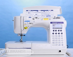 "hzlf400, hzl f400, Juki HZL-F400 Exceed  Demo, 10Yr Extended Warranty* 157Stitch FullSize Computer Sewing Machine, 16x1StepBH 3Font BoxFeed KneeLever 8x12""ExtensionTable"