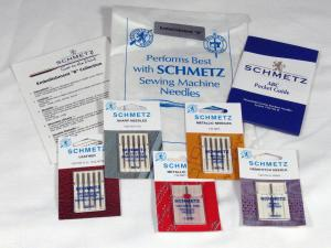 "Schmetz C-EMBLB Embellishment ""B"" Needle Collection, Leather Needles, Sharp Needles, Metallic Needles, Hemstitch Needles, Brochure, Bag"