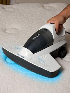 "Verilux, VH07WW1, 001-71386, Cleanwave, UV, Ultraviolet Light, Sanitizing, 13"" Handheld Vacuum Cleaner, & Detach HandVac. Furniture, Bed, Mattress, Crib, Drape, Carpet, 5 Lbs"