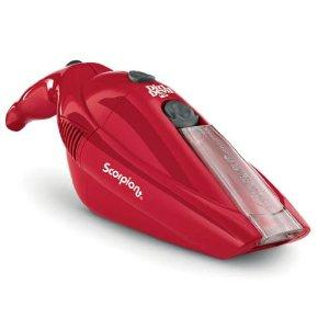 Dirt Devil BD10050RED Scorpion Bagless Hand Vac - 6 V, Red, Cordless, Dirt Cup, Wall Mountable