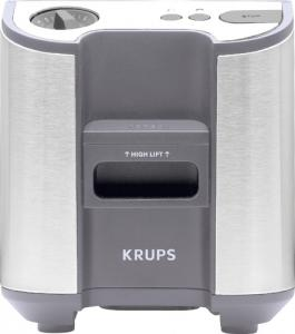 Krups KH7003, Stainless Steel, Precision Toaster, 900 Watts, Wide Slots, 6 Variable Brown Settings, High Lift, Brushed stainless steel, Bagel, Reheat, Cancel