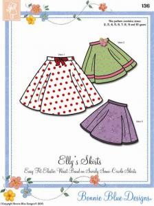 Bonnie Blue BBDP136 Elly's Skirt Pattern