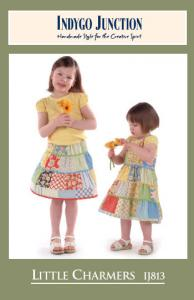 Indygo Junction IJ813 Little Charmers Pattern size 2-6