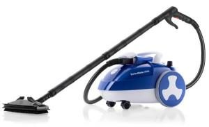 Reliable, Enviromate, VIVA E40,  Continuous, Water Fill, Steam Cleaner, 245ºF, 4 Min Heat up, 1700W, 320ºf Boiler, 72PSI, 5 Bar Guage, 16' foot Cord, 10' foot Hose, 14 Tools, 15 Lbs, ITALY