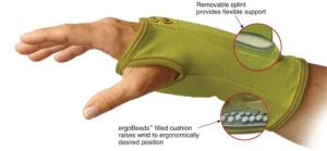 Creative Comfort CC82301 Ergonomic Crafters Comfort Glove SMALL, for Home or Commercial Sewing