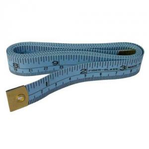 "PGM Pro 809 60"" Inches Tape Measurement with Metrics, Blue with hard wearable tips"