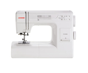 Janome, HD-3000, ELNA 3210,   (4618), 4618LE,  4623, 3123, 19 Stitch, Mechanical, Sewing, Machine, HD3000, 1, One-Step Buttonhole, Free Arm, 7 Piece Feed Dog, Hard Cover