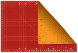 "Sullivans Cutting Edge 24"" x 37"" Gridded Double Sided Cutting Mat"