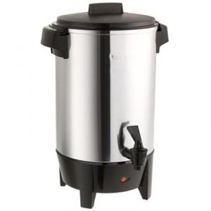 West Bend 58030 30 Cup Aluminum Coffee Urn