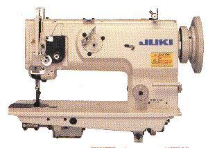 "Juki, DNU1541S, walking foot, needle feed, industrial, sewing machine, upholstery machine, leather, upholstery machine, upholstery machine for leather, DNU 1541S, JAPAN, Retiming Clutch, 9mm Stitch Length, 9/16"" Lift, Power Stand"