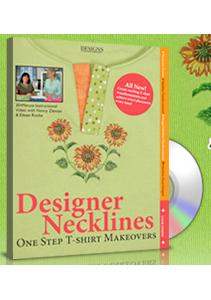 Designs in Machine Embroidery Designer Necklines by Nancy Zieman and Eileen Roche