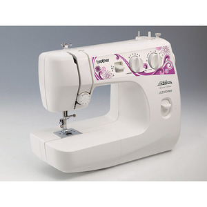 Brother LS2250PRW, Brother LS2300PRW,  Project Runway,20 Straight Stitch, Zigzag, Lightweight, Sewing Machine, Variable Stitch Width, Length, Reverse, 3,Needle Positions,  Metal Bobbin Case,15Lbs