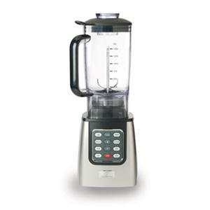 Master Chef MCBL600 Electronic 1.5-Liter Table Top Blender, Lexan Jar, 10 Automatic Settings, Electronic Touchpad, Blade is Removable, Safety-Lock