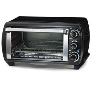 West Bend 74106 - 6 Slice Toaster Oven, Broil, Toast, Keep Warm, Bake, Timer, Auto-Shutoff, Function Control, Temperature Control, 1380W Consumption