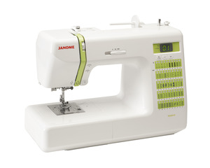Janome, Decor,DC2012, +25/10Yr, Extended, Warranty, 50 Stitch, Computer, Sewing Machine,  1 tep BH, Memory, Needle Up, Down, Speed Limit, Threader, 1/4 inch, Walking Foot, Case