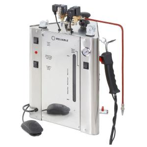 Reliable, i702C, 1200W, 12A, with Steam Boiler, 9 liter, 2.37 Gallons, 4.8 Bar, 70 PSI, Unlimited Hours Per Day, 8 Hours Continuous Use, Auto off, 14 Lbs, 110V, ITALY, Pro Steam Cleaner, for USA & Canada Only, i37 Steam Gun, Foot Pedal, Adjustable Steam Nozzle, Blow Down Valve, Quick Release Fittings,