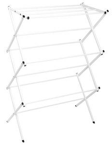 Polder Standing Accordion Drying Rack, White 8311-90